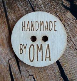 "Knoop ""handmade by oma"""