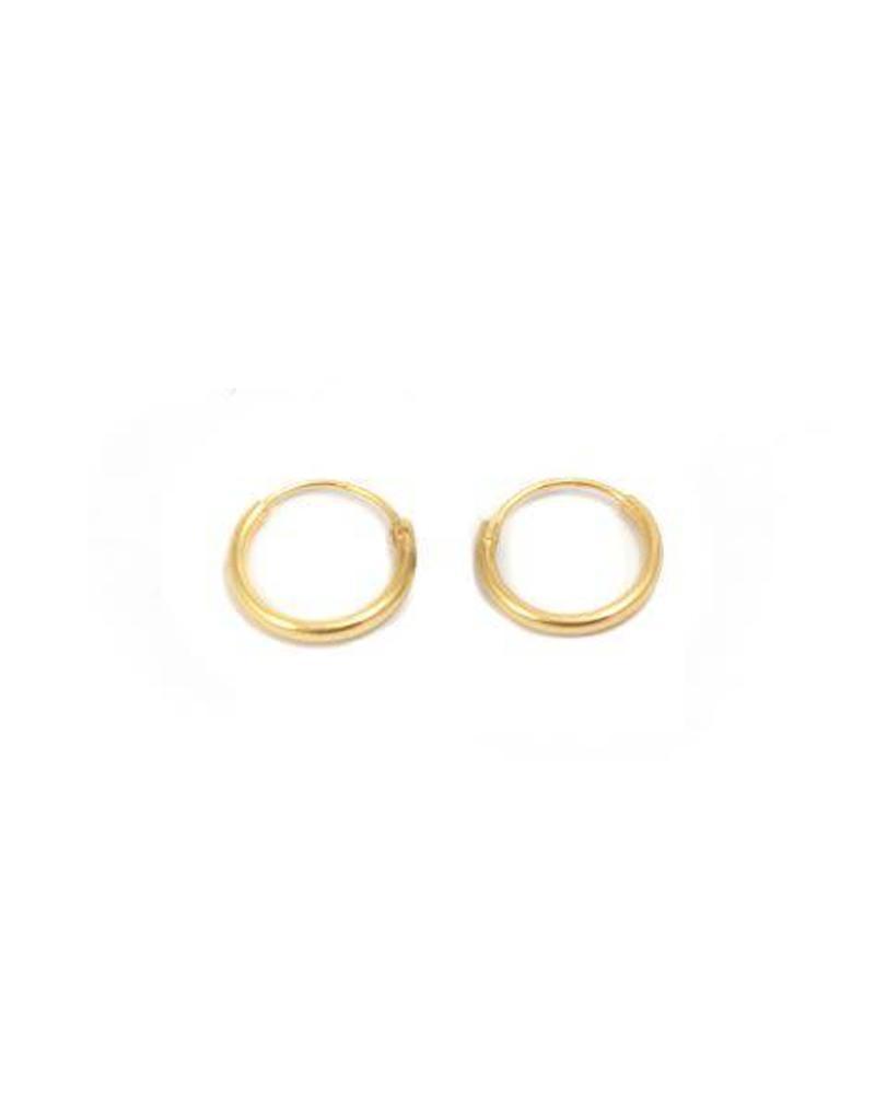 Eline Rosina Tiny hoops gold
