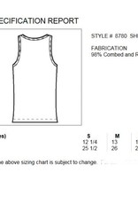 Bella & Canvas Sheer Mini Rib Tank Top