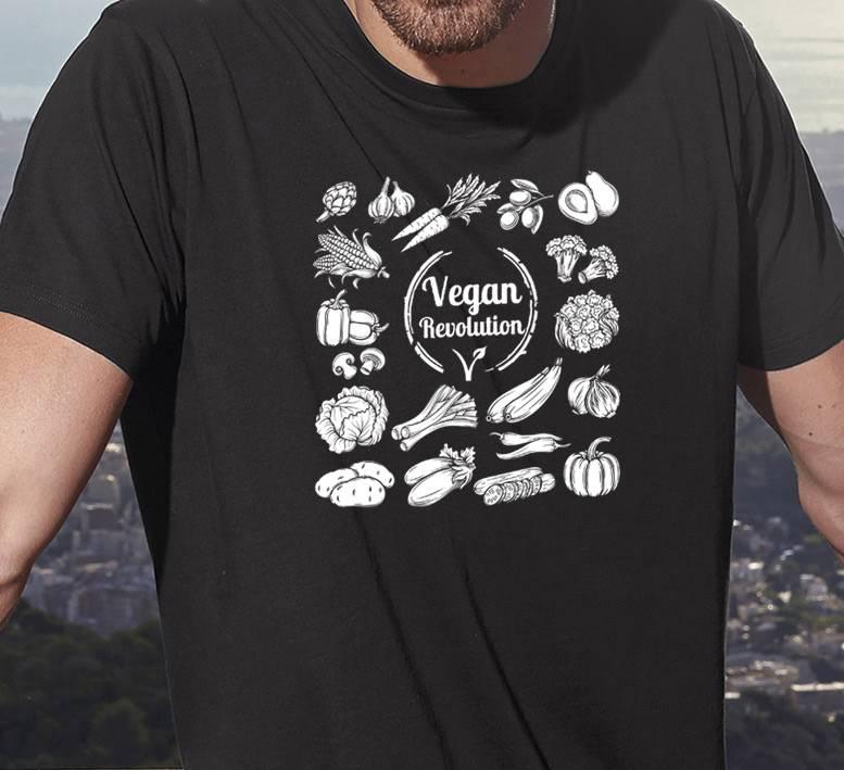 B&C T-Shirt Veganrevolution