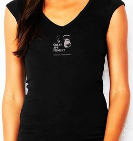 Bella & Canvas Mini Rib V-Neck Shirt
