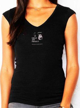Bella & Canvas Mini Rib V-Neck Shirt