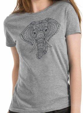 B&C T-shirt Exact 190 Elefant