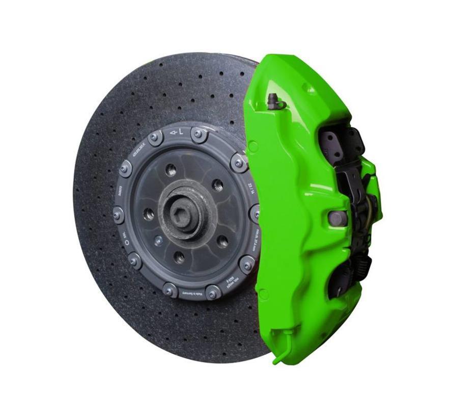 Foliatec Remklauwlakset - NEON groen - 4 Komponenten