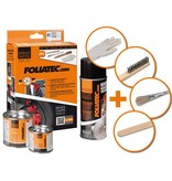 Foliatec Foliatec Remklauwlakset - midnight zwart mat - 3 Komponenten