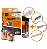 Foliatec Foliatec Remklauwlakset - pure wit - 3 Komponenten