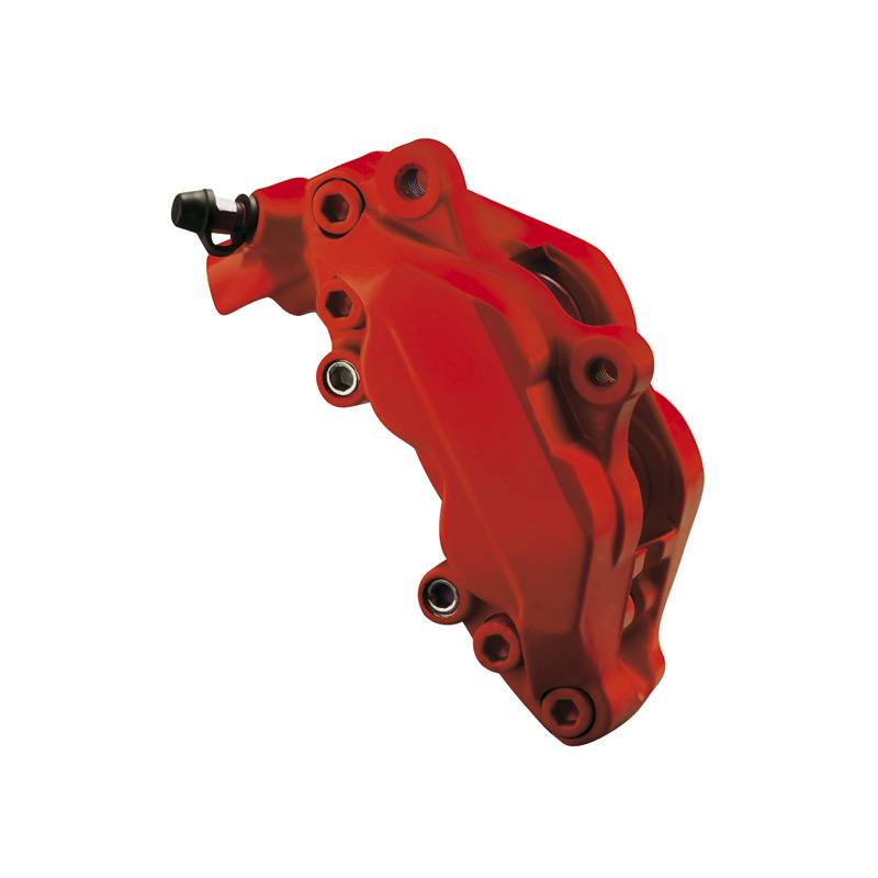 Foliatec Foliatec Remklauwlakset - racing rosso mat - 3 Komponenten