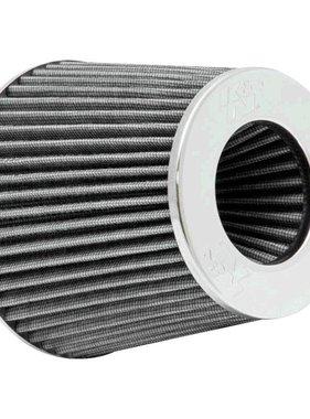 Autostyle K&N RG-Serie universeel vervangingsfilter met 3 aansluitdiameters Wit (RG-1001WT)