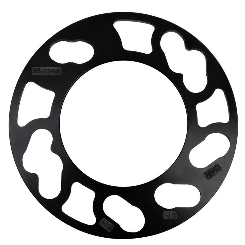 Autostyle TPI Universele spoorverbrederset 3mm - 4/5-gaats - Steekmaat 98->114,3mm - zwart (6mm/as)