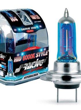 Autostyle Simoni Racing Halogeen Lampen 'HID Style' H7 (6000K) Hyperwhite 12V/55W, set a 2 stuks ECE-R37
