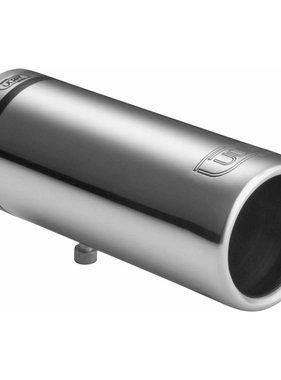 Autostyle Ulter Sport Uitlaatsierstuk - Rond O60mm - Lengte 150mm - Montage 30-50mm - RVS