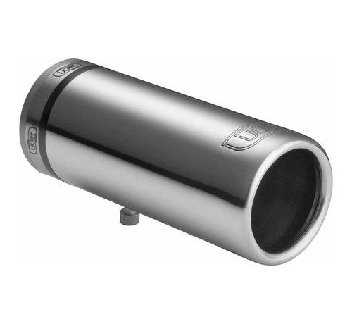 Autostyle Ulter Sport Uitlaatsierstuk - Rond O50mm - Lengte 100mm - Montage 30-40mm - RVS