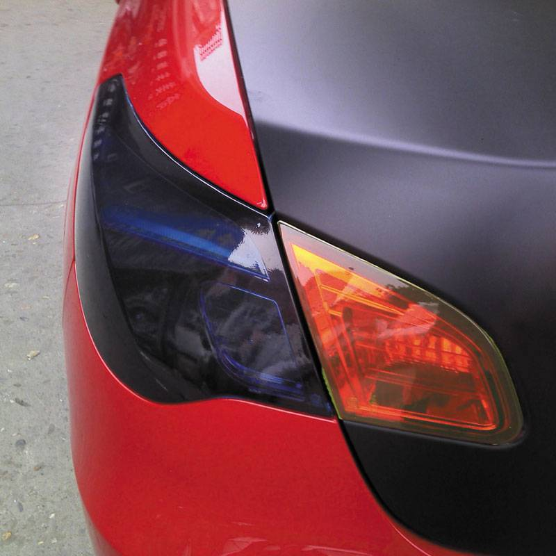 Autostyle Koplamp-/achterlicht folie - Rood - 1000x30 cm
