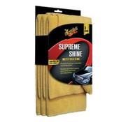 Meguiars Meguiars Supreme Shine Microfiber 40.6x40.6cm, set a 3 stuks