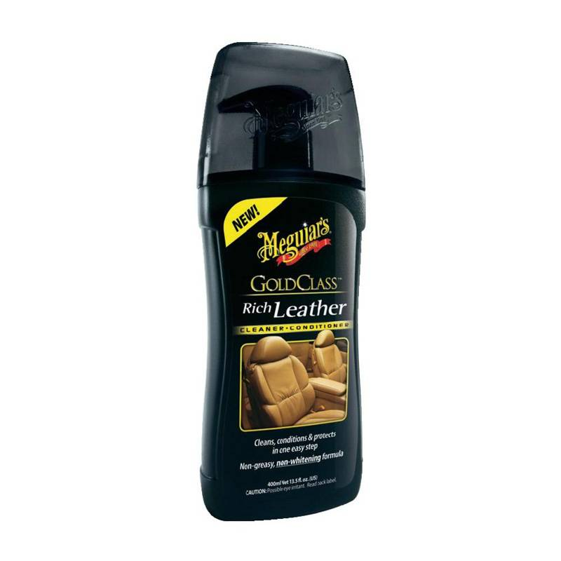 Meguiars Meguiars Gold Class Rich Leather Cleaner/Conditioner 400ml