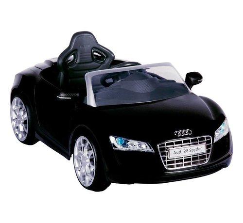 OSP Accu-Auto Audi R8 Zwart - 6V - incl. MP3 en afstandsbediening - vanaf 3 jaar