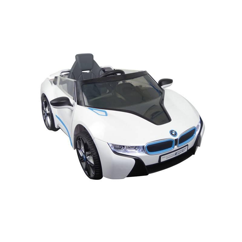 OSP Accu-Auto BMW i8 Wit - 6V - incl. MP3 en afstandsbediening - vanaf 3 jaar