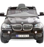 OSP Accu-Auto BMW X5 Zwart - 6V - incl. MP3 en afstandsbediening - vanaf 3 jaar