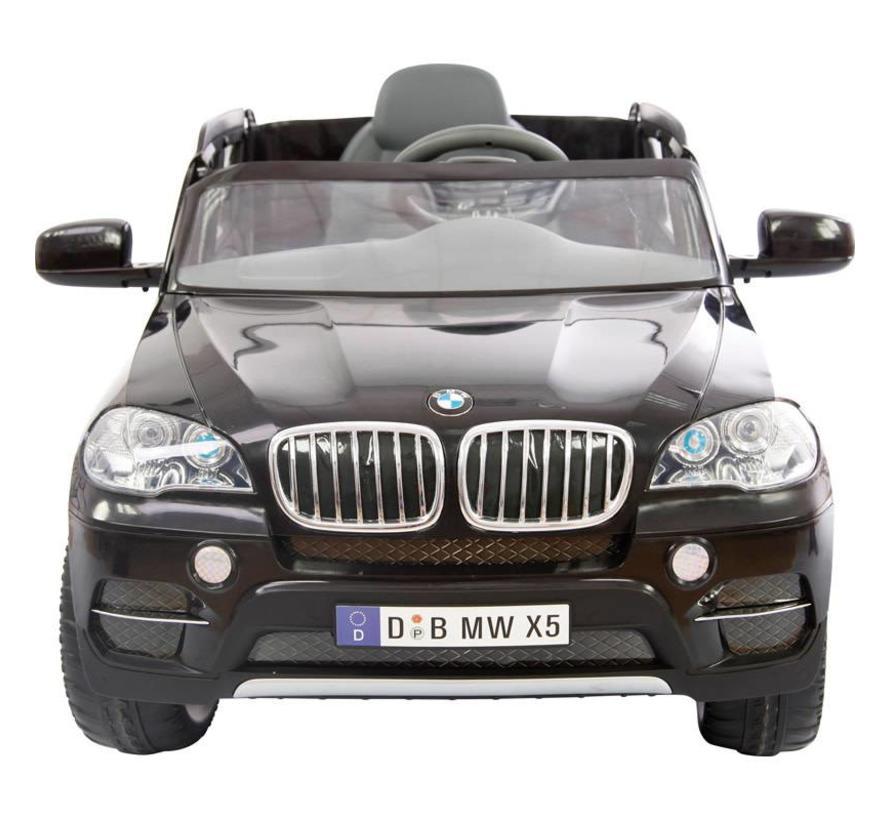 Accu-Auto BMW X5 Zwart - 6V - incl. MP3 en afstandsbediening - vanaf 3 jaar