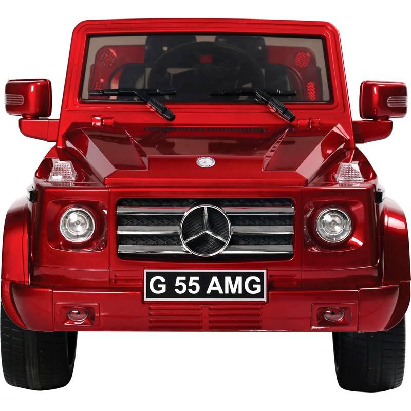 OSP Accu-Auto Mercedes G55 Rood - 12V - incl. MP3 en afstandsbediening - vanaf 3 jaar