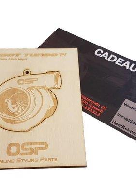 OSP Cadeaubon Turbo 50 euro