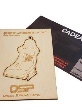 OSP Cadeaubon Sportseat 25 euro
