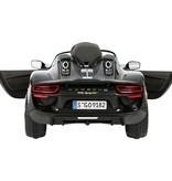 OSP Accu-Auto Porsche 918 Spider Zwart - 12V - incl. MP3 en afstandsbediening - vanaf 3 jaar