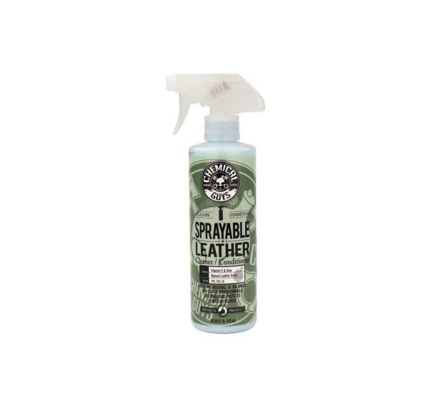 Sprayable Leather & Conditioner In One