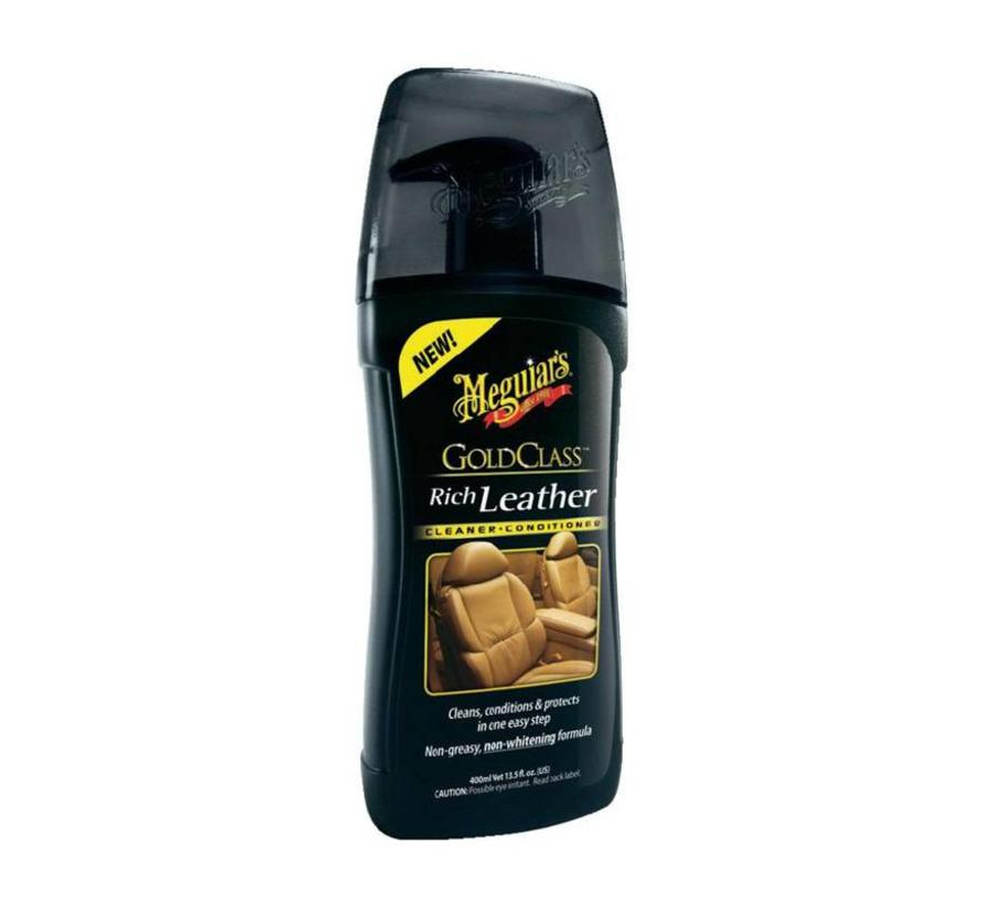 Meguiars Gold Class Rich Leather Cleaner/Conditioner 400ml