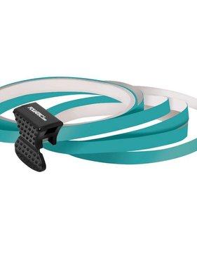 Foliatec Foliatec PIN Striping voor velgen incl. montage hulpstuk - turquoise - 4 strips 6mmx2,15meter & 1 testrol 6mmx40cm