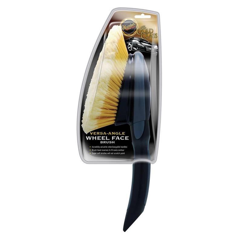 Meguiars Meguiars Versa-Angle Wheel Face Brush Short Handle 15.24x65.09x12.38cm