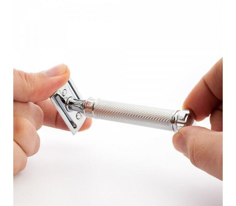 Safety Razor - Chroom Twist