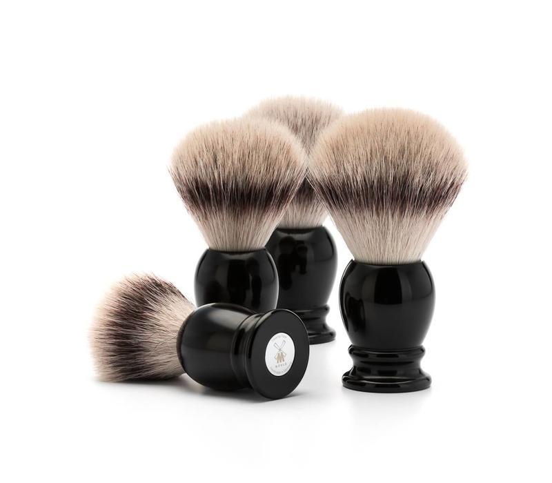 Scheerkwast Silvertip Fibre®- Zwart