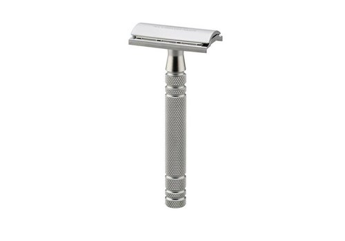 Feather Safety Razor - Mat Chroom Gesloten Kam