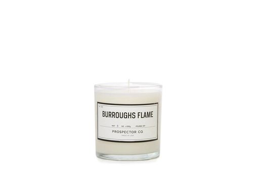 Prospector Co. Candle Burroughs Flame 5 oz.