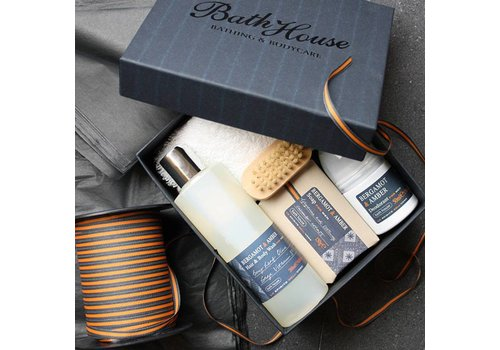 Bath House Cadeauset Bergamot & Amber - Shower