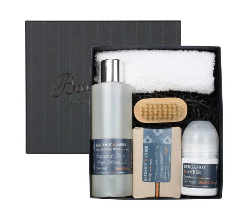 Cadeauset Bergamot & Amber - Shower