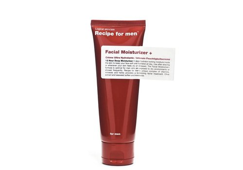 Recipe For Men Facial Moisturizer+ 75ml