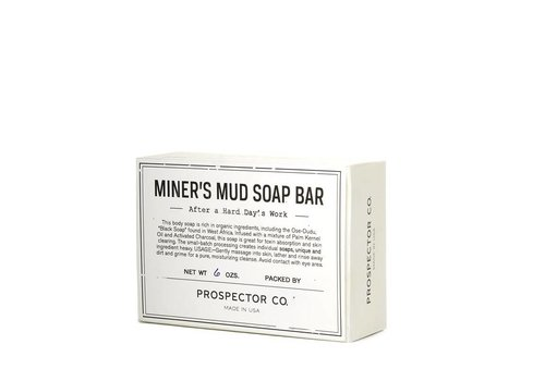 Prospector Co. Mud Soap handzeep 178g