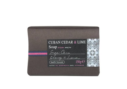 Bath House Badzeep 150g Cuban Cedar & Lime