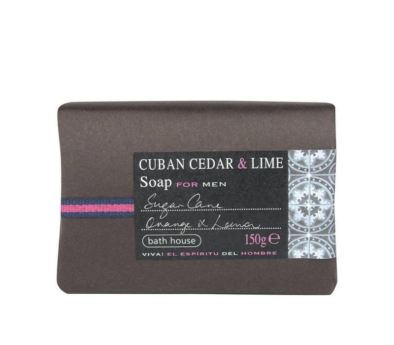 Badzeep 150g Cuban Cedar & Lime