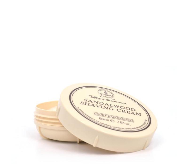 Scheercrème 60ml Sandalwood