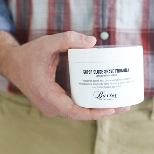 Baxter of California shaving cream
