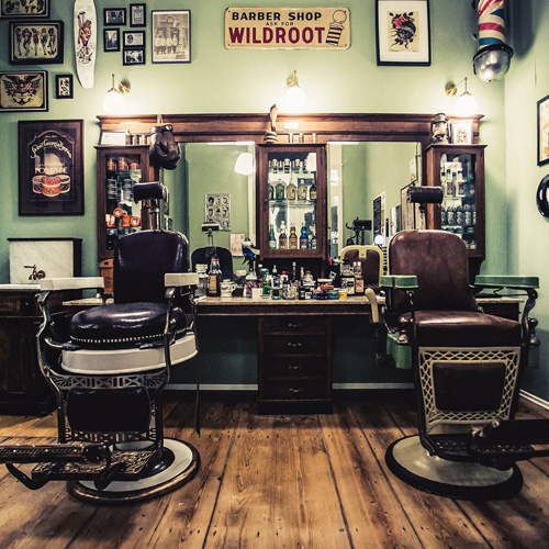 feather barbershop