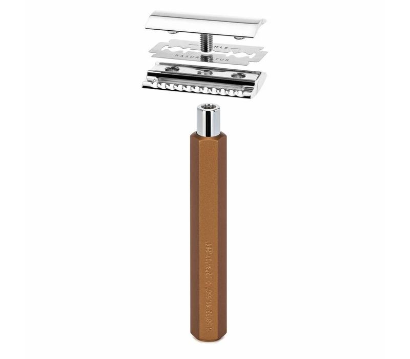 Safety Razor - Bronze - Gesloten Kam