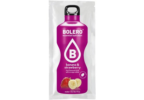 BOLERO Banana & Strawberry with Stevia