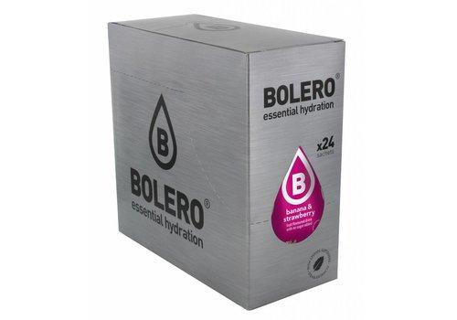 BOLERO Banaan & Aardbei 24 stuks met Stevia