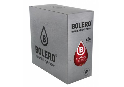 BOLERO Aardbei 24 stuks met Stevia