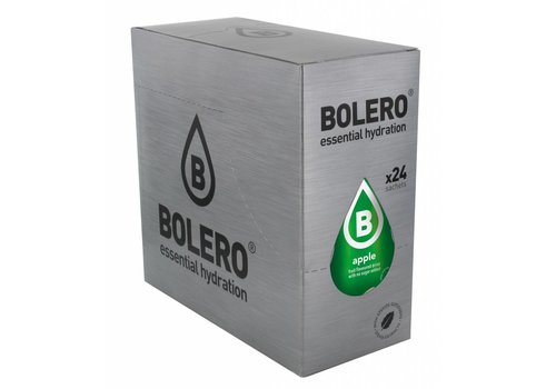 BOLERO Apple 24 sachets with Stevia