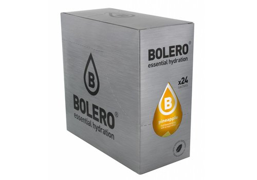BOLERO Ananas 24 stuks met Stevia